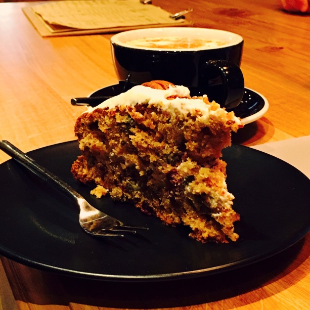 Carrot cake Slake Coffee House